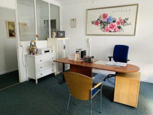 Billede af klinikkens kontor